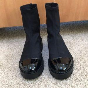 NWT! Zara size 40/9 black ankle boots